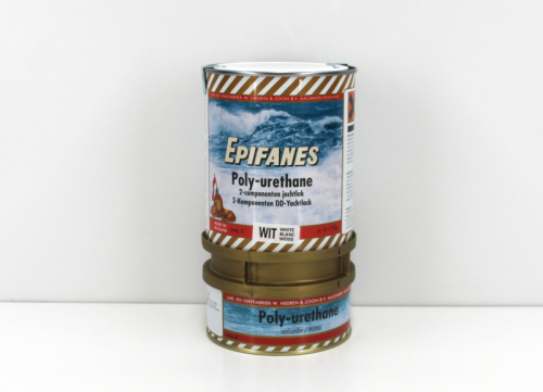Epifanes poly-urethane Bootslack Weiss 800